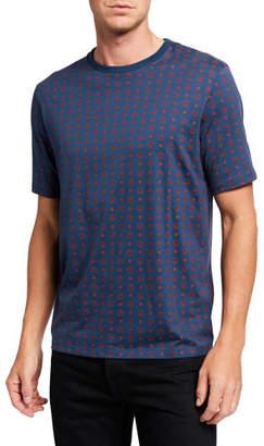 MCM Men's Logo Pattern T-Shirt