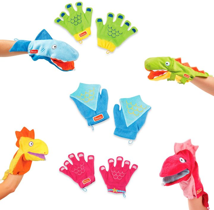 Bed Bath & Beyond Manhattan Toy® Sudsy Fun Mitts & Squirty Bath Pals