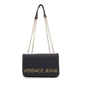 Versace Accessories Letter Logo Shoulder Bag Colour: BLA
