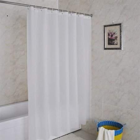 Eagle Rings Home Mold-Proof Translucent Waterproof Bathroom Bath Shower Curtain