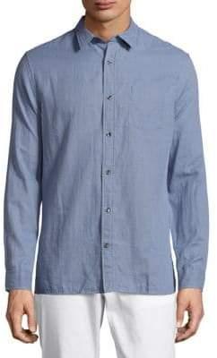 Vince Double Weave Melrose Shirt
