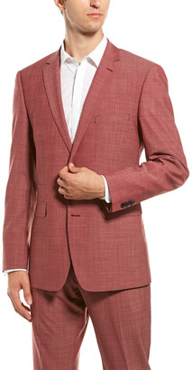 Vince Camuto 2Pc Wool-Blend Suit With Flat Pant