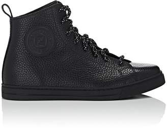 Fendi Women's Leather High-Top Sneakers