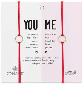 Dogeared You & Me Friendship Bracelets, Set of 2
