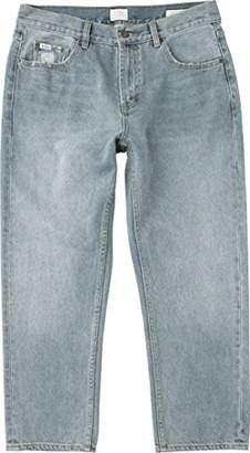 RVCA Men's Flood Denim-Neutral Jean