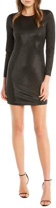 Bardot Metallic Bodycon Dress