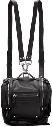 McQ Alexander McQueen Black Mini Convertible Box Backpack $545 thestylecure.com