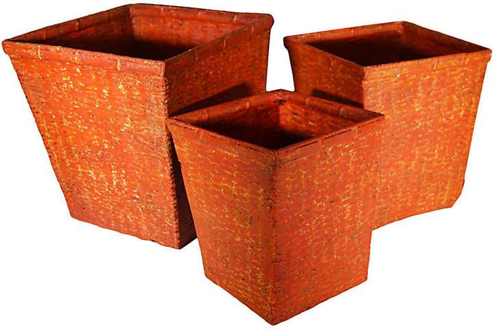 Handwoven Nesting Baskets