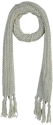 Under Zero Women's Long Tassel Knit Scarf