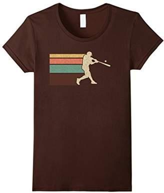 Retro Vintage Distressed Baseball T Shirt