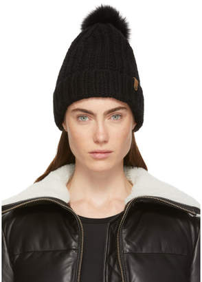 Mackage Black Doris Beanie