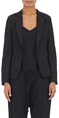 Yohji Yamamoto Regulation Women's Worsted Wool Tie-Back Blazer