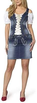 True Blue Stockerpoint Women's Rock Kesha Skirt, Blau , 10