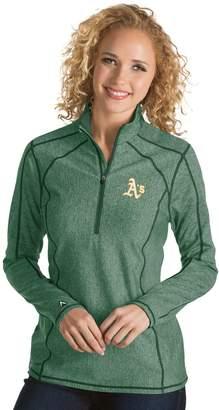Antigua Women's Oakland Athletics Tempo Pullover