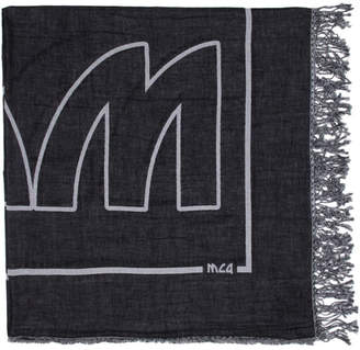McQ Black V2 Block Scarf