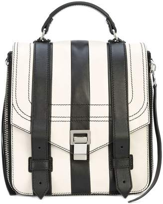 Proenza Schouler Patchwork Stripe PS1+ Backpack