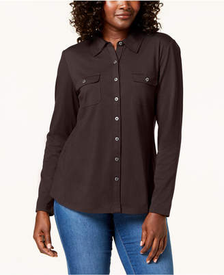 Karen Scott Long-Sleeve Shirt