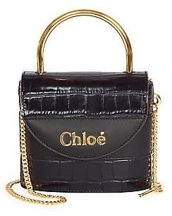 Chloé Women's Embossed Leather Shoulder Bag