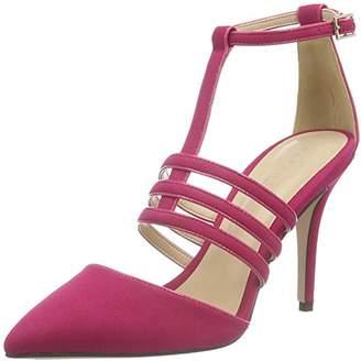 Paper Dolls Women's's Bess Closed Toe Heels, (Pink), 8 UK