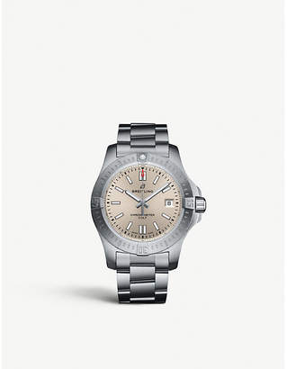 Breitling A17313101G1A1 Chronomat Colt steel watch