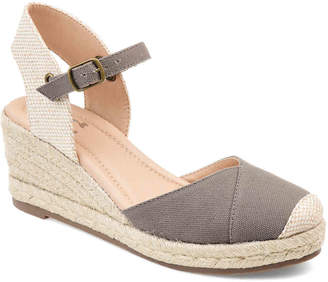 33aa85f0a71 Gray Espadrille Wedge Women's Sandals - ShopStyle
