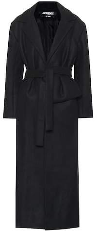 Aissa wool-blend coat