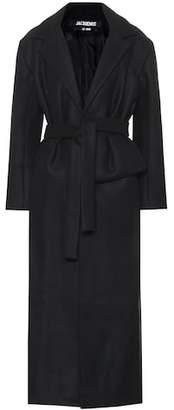 Jacquemus Aissa wool-blend coat