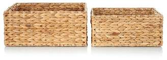 George Home Nest of 2 Storage Baskets