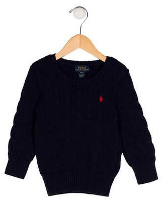 Polo Ralph Lauren Girls' Knit Embroidered Sweater