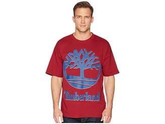 Timberland Short Sleeve New 90s Inspired Tee (Biking Red