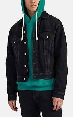 Acne Studios Men's Denim Trucker Jacket - Black