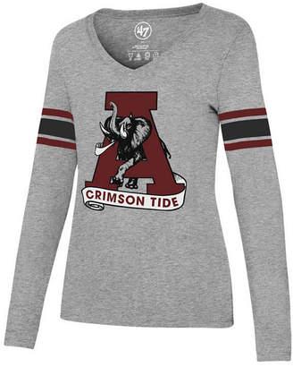 '47 Women's Alabama Crimson Tide Knockaround Club Long Sleeve T-Shirt