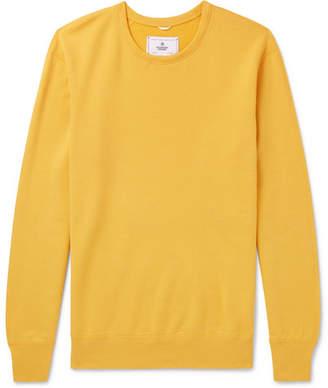 Reigning Champ Loopback Pima Cotton-Jersey Sweatshirt
