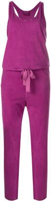 Humanoid tie waist jumpsuit