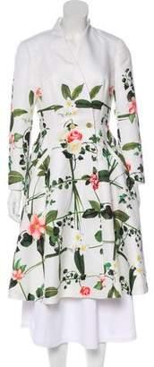 Ted Baker Floral Print Coat