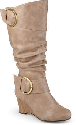 6669f5b87d6 Journee Collection Extra Wide Calf Womens Slouch Boots