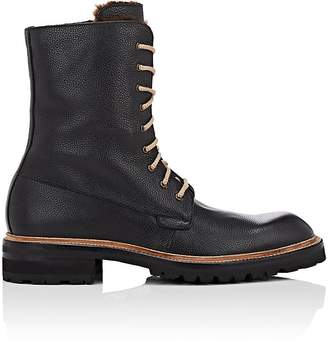Harris Men's Faux-Shearling-Lined Leather Boots