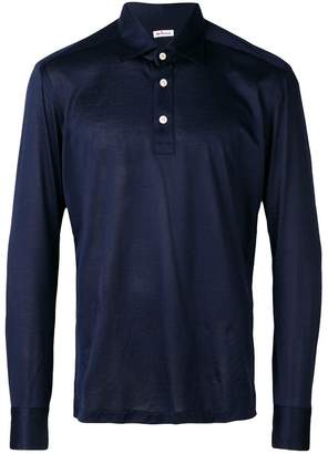 Kiton longsleeved polo shirt