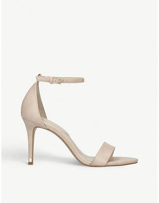 Aldo Eriressi snakeskin-embossed faux-leather sandals