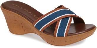 Athena Alexander Seymour Wedge Slide Sandal