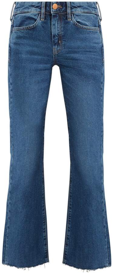 M.I.H JEANS Lou high-rise flared jeans