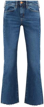 MiH Jeans Lou high-rise flared jeans