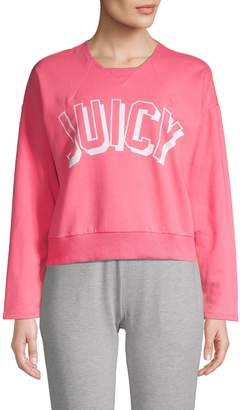 Juicy Couture Graphic Heathered Pullover