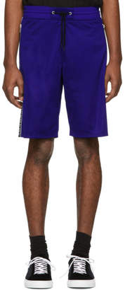 Givenchy Blue Reflective Bands Shorts