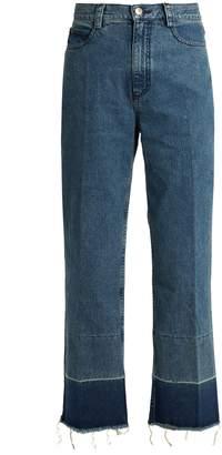 RACHEL COMEY Legion high-rise slim-leg jeans $360 thestylecure.com