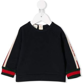 Gucci Kids side panelled sweatshirt
