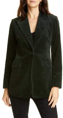 Kate Spade Modern Stretch Cotton Corduroy Blazer