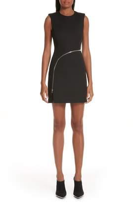 Alexander Wang Zipper Detail Body-Con Dress