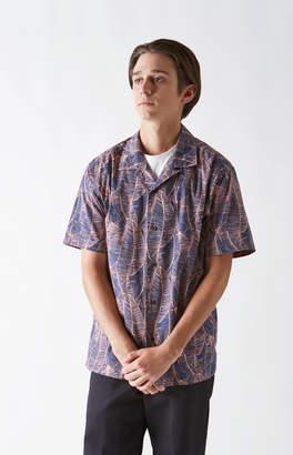 Katin Overlap Short Sleeve Button Up Shirt