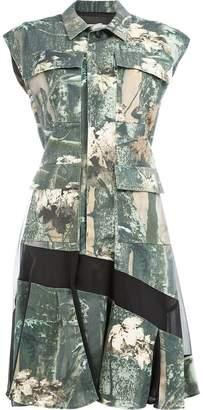 DAY Birger et Mikkelsen Koché leaf print shirt dress